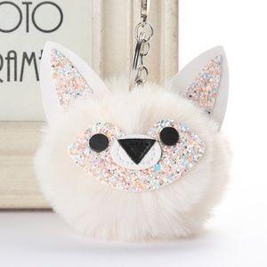Accessories - NEW Cute Fox Pom Pom Handbag Charm / Keychain